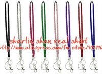 Wholesale DHL cm fashion lanyard With Lobster claw clasp holder
