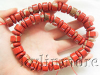 Wholesale 8SE04975a MM Red Jasper Rondelle Beads