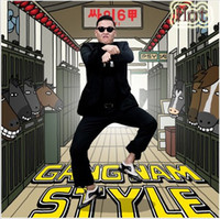Wholesale Fashion Gangnam Style Psy hot Sunglasses South Korean Individual design PSY Glasses Fashion styles