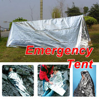 Wholesale 100 Sporting Outdoor Travel Emergency Tent Tube Survival Camping Shelter Brand New