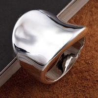 big fashion rings - Top Sale Fashion Silver Generous Men s Finger Rings Big Rings Size Mixed