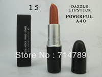 Wholesale NEW makeup NEW MATTE LIPSTICK ROUGE LIP STICK colors choose