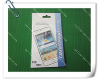 Wholesale 2013 Crystal Screen Protector Film Guard Cover For Samsung Galaxy S4 i9500 With Retail Package