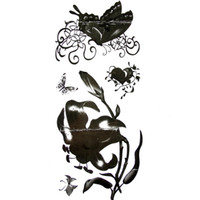 Wholesale New Temporary Tattoos Black amp White Design Authentic