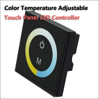 adjustable temperature switches - Wall Mounted Touch Panel Color Temperature Adjustable dimmer LED Controller