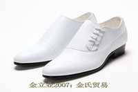 Wholesale 2013 Newest Style men s wedding shoes prom shoes Dress Shoes leather shoes Size