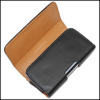 For Apple iPhone Leather For Christmas Black Belt Clip Leather Wallet Case Protector Pouch Waist Holster Case For Iphone5 iPhone 5 5G 1pcs
