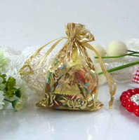 Wholesale 100Pcs Wedding Favors Candy Bag Sweet Box Gift Colors Candy Sack Style