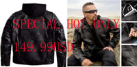 Wholesale CRAZY limited S XXL all have Men s AUTHENIC real Leather Jacket motorcycle jacke vm