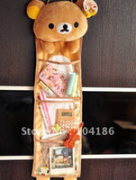 Wholesale Rilakkuma Bear Home Storage BAG Tidying up BAG Pouch Bathroom Pendant BAG Pouch Case Three Layers