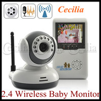 monitors - 2 quot TFT Wireless Digital Baby Monitor IR Video Talk one Camera Night Vision video Baby Monitor