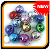 Wholesale Retail Colorful Jingle Bells For Pet Kids Collar Or Hand Decoration