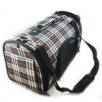 Wholesale High Quality Water Resistant Lattice Fringes Pet Travel Carrier BAG S L