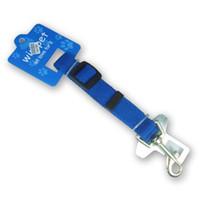 Wholesale Nylon Fabric Pet Seat Belt Leash Clip Pet Leash