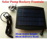 Wholesale Solar Pump For Water Cycle Pond Fountain Rockery Fountain cm height