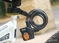Wholesale Alarm Lock Ring Bike Lock Anti theft Lock Bicycle Burglar proof Padlock Electric Lock Automatic Lock