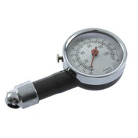 Wholesale Dial Type Metal Protect Shell Tyre Tire Air Pressure Gauge Car Motorcycle Bike