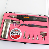 Wholesale Portable in Gas Butane Welding Soldering Iron Torch Set Pen shaped