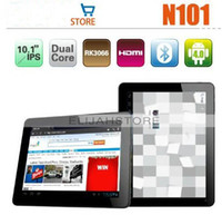 Wholesale Yuandao N101 tablet pc quot dual core RK3066 GHz GB Dual Camera android HDMI blue tooth