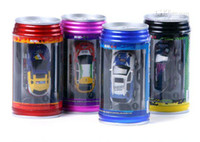 Wholesale Hot NEW Mini Coke Can Radio Remote control Super RC racing car