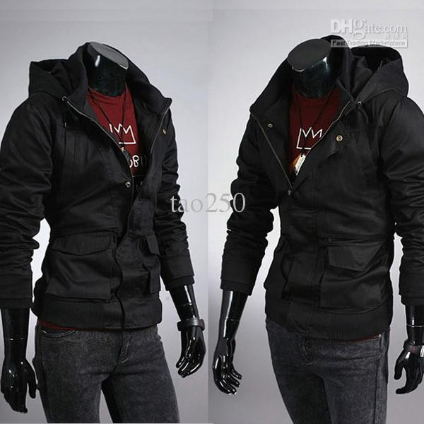 Discount Black Military Jacket Men Hoodie | 2017 Black Military ...
