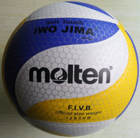 Wholesale Molten soft Touch size volleyball New panels Match quality with very cheap price