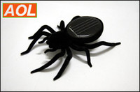 Wholesale funny Solar Powered Spider Robot insect Toy gift Educational Solar Spider Robot Insect Gadget