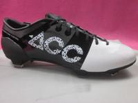 achat en gros de gs taquets-Offre spéciale Chaussures de football de football 2013 Chaussures Crampons CR Green Speed GS Blanc / Noir toutes les tailles