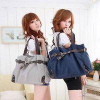 Wholesale High Quality Totes printed Handbag colors NEW FASHION womens canvas handbag leisure shoulder bag