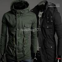 Cheap Men Jackets Best 100% Cotton Zipper Outwear
