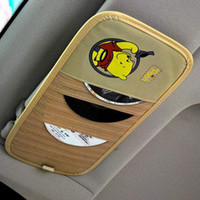 Wholesale Thicker section cartoon car visor CD folder CD pocket