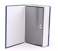 Wholesale New Book Style Safe Deposit Box Cash Protection Piggy Bank