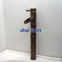 Wholesale Luxury Bamboo Bathroom Basin Faucet Mixer Tap B012