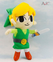 Wholesale The soft Plush Toy The Legend of Zelda NINTENDO inch stuffed plush toys