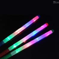 New Year glow sticks - LED Colorful rods led foam stick flashing foam stick light cheering glow foam stick foam led