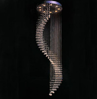 Wholesale Hot selling LED Dia60 cm contemporary crystal chandeliers modern pendant lamp