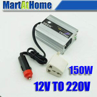 Wholesale NEW W POWER INVERTER DC V to AC V USB for Mobile Car TV DC CF