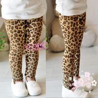 2T-3T Girl Spring / Autumn 2013 Children's Leopard Printed Grain Girls Leggings&Tights Kids Fashin Pants 6315