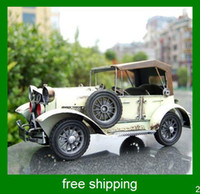 Wholesale hot selling retro classic cars model bookshelf ornament