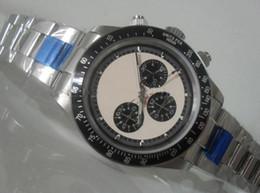 Promotion cru mens watch automatique Vente en gros - Vintage Perpetual Paul Newman inoxydable mécanique automatique Montre Homme Montre homme