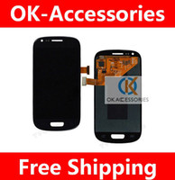 Wholesale display lcd touch screen completed assembly for Samsung i8190 galaxy s3 mini