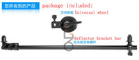 Wholesale Photography Reflector Holder Stand Backdrop Arm Grip cm cm