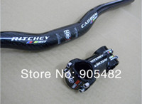 Wholesale RITCHEY WCS Carbon Fiber MTB handlebar Stem bike bicycle parts