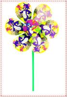 plastic windmill toy - Children plastic sunflower windmill cm length cm diameter windmill toy several