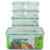 Wholesale DHL sets PP microwavable freshness preservation storage set box for food L