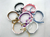 Wholesale 925 Sliver Friendship bracelet Woven Bracelet woven bracelet Charm bracelets