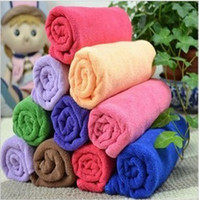 Wholesale Microfiber Car Cleaning Dishcloth x25CM Kitchen Towels Rags Quick Dry Car Wash Cloth