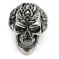 Cheap Skull Ring Best Biker Ring