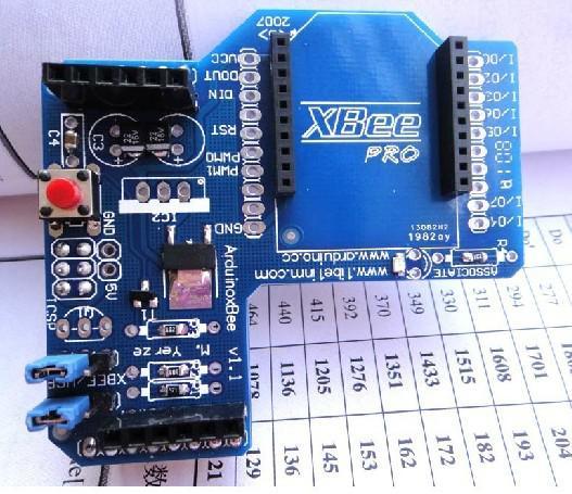 Arduino xbee zigbee robot mega nano platform from