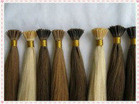 Wholesale I tip hair extensions IN STOCK i tip hair extensions peruvian virgin hair no tangle g s g per